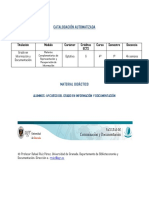Material Didactico Catalogacion Automatizada