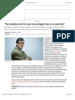 2013 03 25 - El Pais - Latour - No Estaba Escrito Que La Ecología Fuera Un Partido