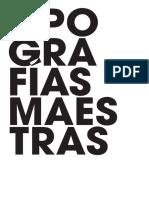 Tipografías Maestras - Natalia Trost
