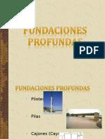 FUNDACIONES PROFUNDAS