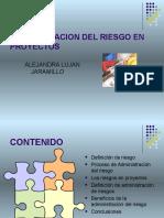 Administracion Del Riesgo y Proyectos