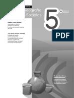 Historia, geografía y Cs. Sociales 5to básico