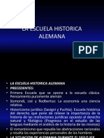 HISTORICISMO.-MARGINALISMO.
