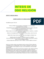 Sintesis de Periodo Religion