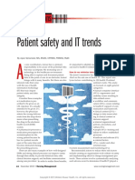 Patient_safety and IT Trends