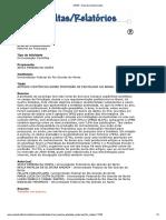Artigos Cientificos Sobre a Profissão de Psicólogo No Brasil