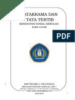 Tata Tertib Dan Tatakrama