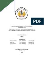 PKM-P Ekstraksi Kulit Buah Manggis Sebagai Bahan Anti Rayap Tanah