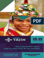 Programación Cumbre Tajin 2016 Eldescafeinado