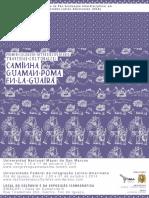 Afiche Coloquio Guaman Poma en La Guairá