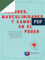 2014 Masculinidades