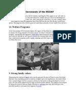 Achievements of the NSDAP