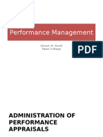 3.1. Perfromanace Management Admin