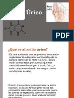 Acido Úrico Generalidades