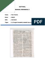 Tugas Bahasa Indonesia 2