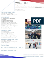 BIFS Newsletter, 2016-03-18 (English)