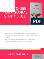How to Use a Study Bible