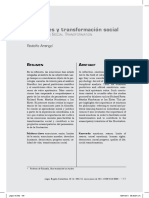 Arango, R. - Emociones y Trasformación Social
