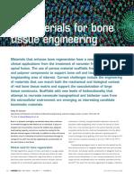 Biomaterials for Bones REV