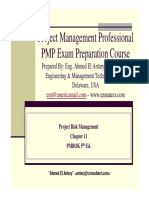 Ahmed El Antary - PMP Part 11- Risk 5th Ed - General