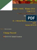 3360 Unit 02.2.1 2014-I-01