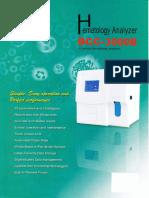 Hematology Derui Bcc3000