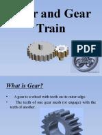Gear and Gear Train