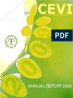 CEVI Annual Report FY 2009