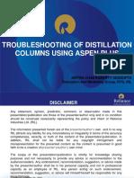 06_Troubleshooting of Distillation Columns Using Aspen Plus_Aritra_RIL
