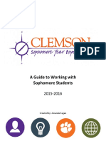 Sophomore Resource Guide
