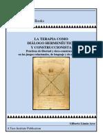La Terapia Como Dialogo Hermeneutico y Contruccionista