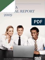 Poolia Annual Report 2009