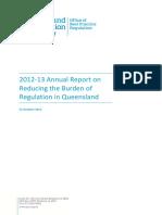 2012 13 OBPR Annual Report