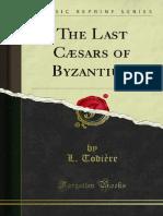 The Last Casars of Byzantium