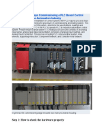 Commissioning a PLC Based Control System Guide in the Automation Industry