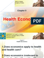 Chapter 9 - Health Economics