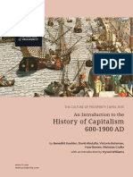 An Introduction to the History of Capitalism 600 1900 Ad