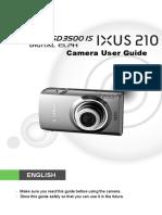 Canon IXUS210 Guide En