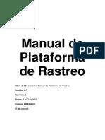 Manual de Rastreo via GPS
