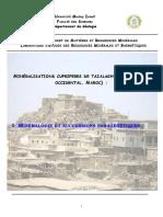 Rapport géologiqueTazalaght