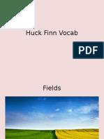 huck finn vocab