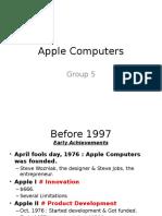 Stategic Management_Apple Computers