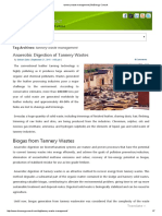 Tannery Waste Management _ BioEnergy Consult