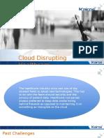 Cloud Disrupting Healthcare