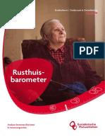 Rusthuisbarometer 2016