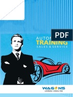 Automotive Corporate Training Modules (Sales & Service)