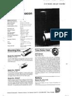 Dukane Underwater Beacon (Pinger)