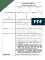 002 Pengaturan Tentang Penggunaan Antibiotika