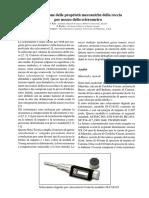 Valutazione Delle Proprieta Meccaniche Della Roccia Sclerometro