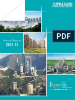 JpassociatAnnual Report for the Year 2014-15